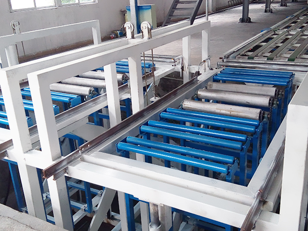 mgo board production line automatic board receiving system
